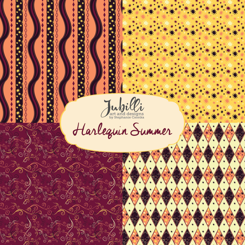 Harlequin Summer Collection