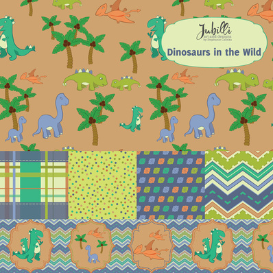 Dinosaurs in the Wild Collection